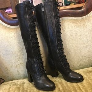 SampleSale Find! Frye Parker Dutchess Lace Up Boot
